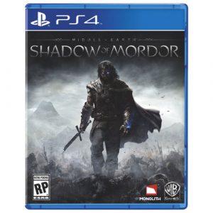 Disk PlayStation 4 (Shadow of Mordor)