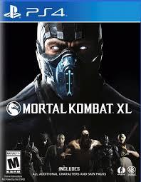 Disk PlayStation 4 (Mortal Kombat XL)