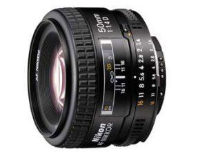 Nikon AF Nikkor 50mmf/1.4D