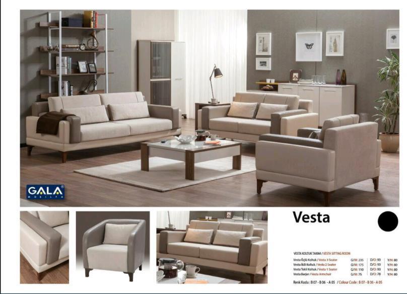 Gala-Vesta yumşaq dəsti