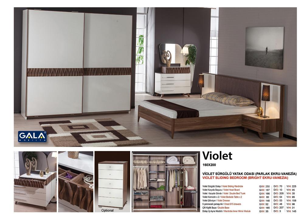 Gala-Violet yataq dəsti