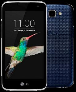 LG K 4 K120E Black Blue