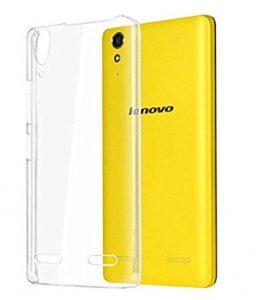 Protective cover silicone Lenovo A 7000 transparent