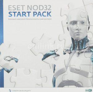 Antivirus ESET NOD32 Start Pack 1PC/1Y