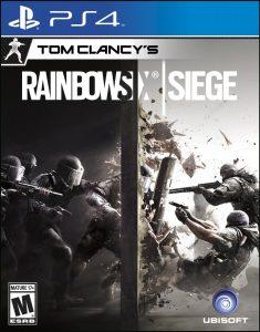 DISK Playstation 4 (Tom Clancys Rainbow Six Siege)