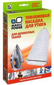 Həssas parçalar üçün Teflon ütü başlığı Magic power MP-613