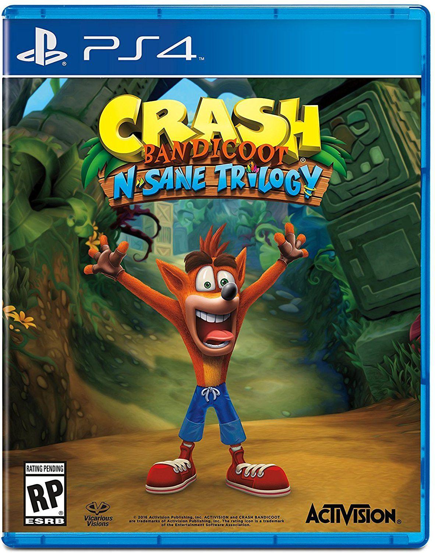 Диск  Playstation 4 (Crash Bandicoot Nsane Trilogy)  - 1