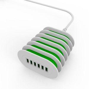 LDNIO A6702 7A 6USB Port Desktop Charger with UK Plug