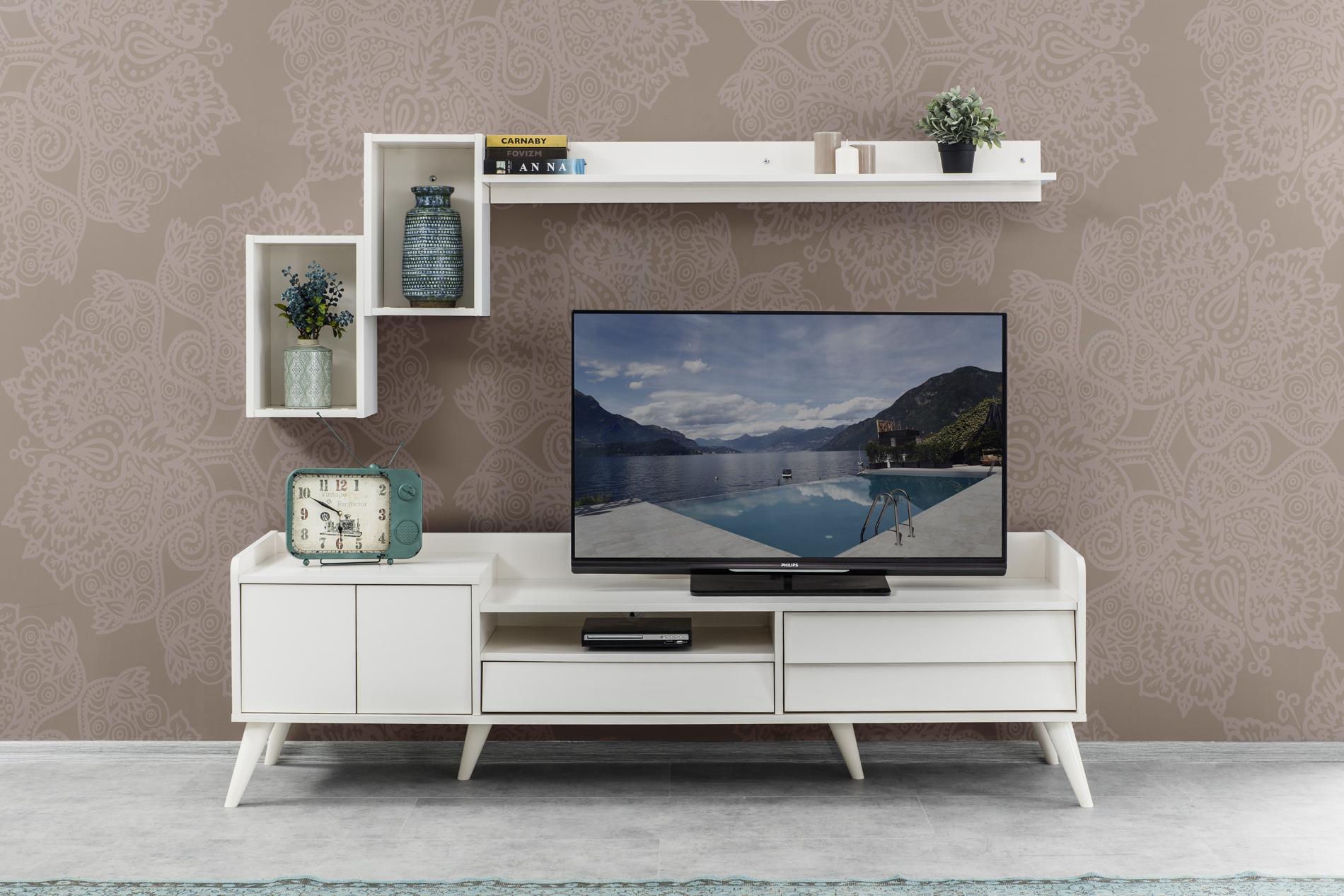 Gala-Luna tv-stend (ağ)