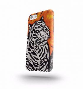 Iphone X Leopard qirmizi gulle