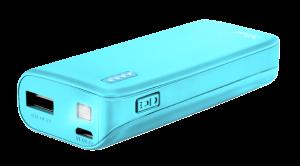 TRUST Primo Powerbank 4400 neon blue