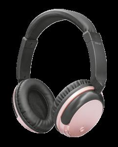 TRUST Kodo Bluetooth Wireless Headphone rose gold