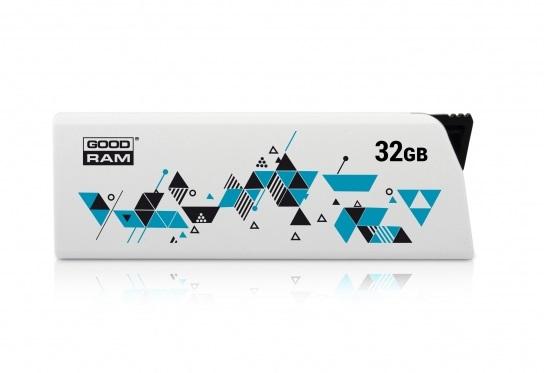 USB Toplayıcı GOODRAM 32GB UCL2 WHITE USB 2.0  - 1