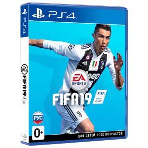 Диск  Playstation 4 (Fifa 19)