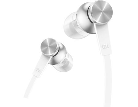 Наушники Xiaomi Mi In-Ear Headphones Basic Silver  - 1