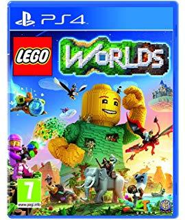 Disk   Playstation 4 (LEGO Worlds)  - 1