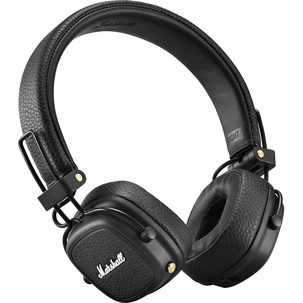 Qulaqlıq Marshall Major 3 Bluetooth Black  - 1
