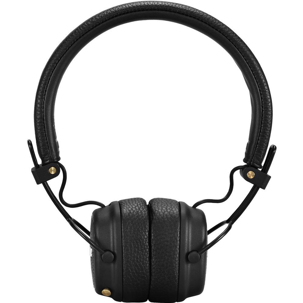 Qulaqlıq Marshall Major 3 Bluetooth Black  - 5