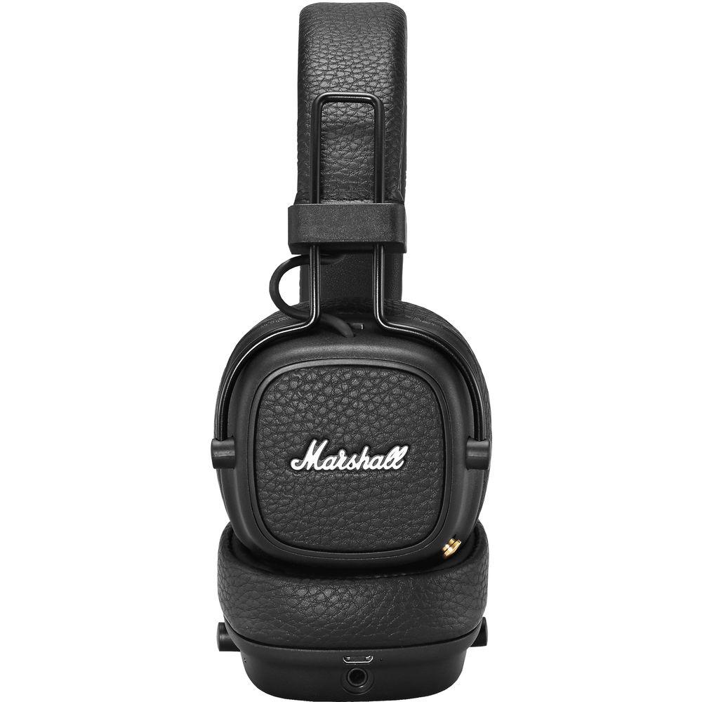 Qulaqlıq Marshall Major 3 Bluetooth Black  - 2