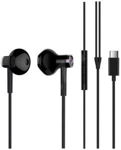 Qulaqlıq Xiaomi Mi Dual Driver Earphones Type C Black