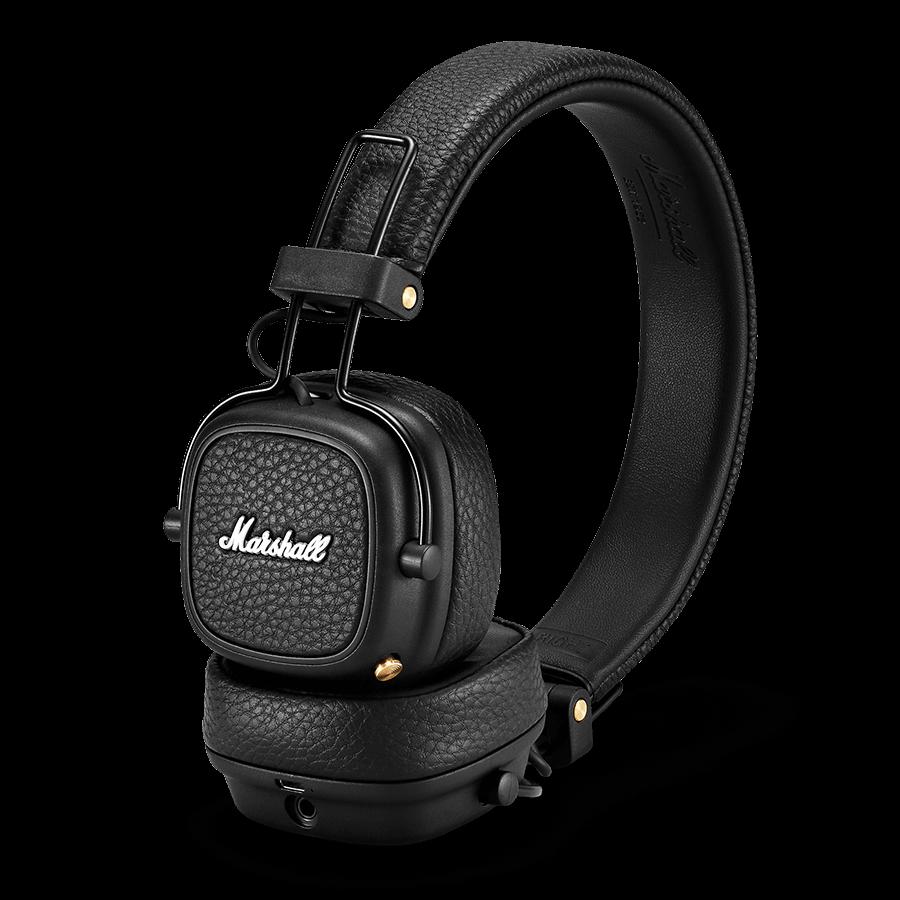 Qulaqlıq Marshall Major 3 Bluetooth Black