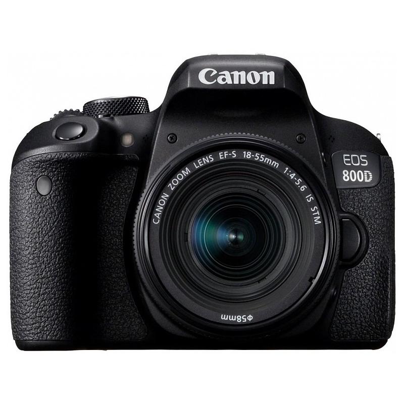 Fotoaparat CANON EOS 800D EF-S 18-55 IS STM Kit  - 1