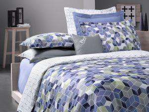 Gravity iki nəfərlik yataq dəsti (mavi)