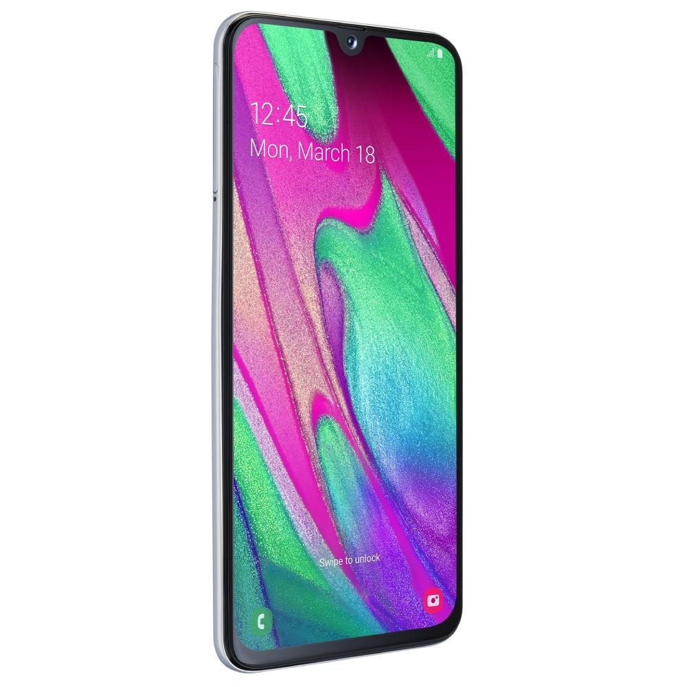 Samsung Galaxy A40 DS (SM-A405) white - 3