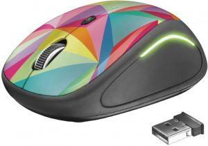 Mouse Trust Yvi Geometrics Wireless