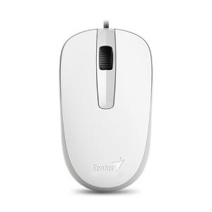 Mouse Genius DX-120 White 1000 DPI USB