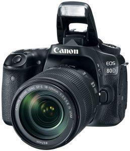 Fotoaparat CANON EOS 80D 18-135