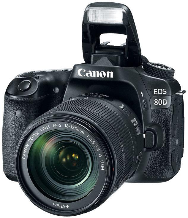 Fotoaparat CANON EOS 80D 18-135  - 1