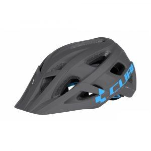 Helmet Cube AM Race S/M Grey-Blue