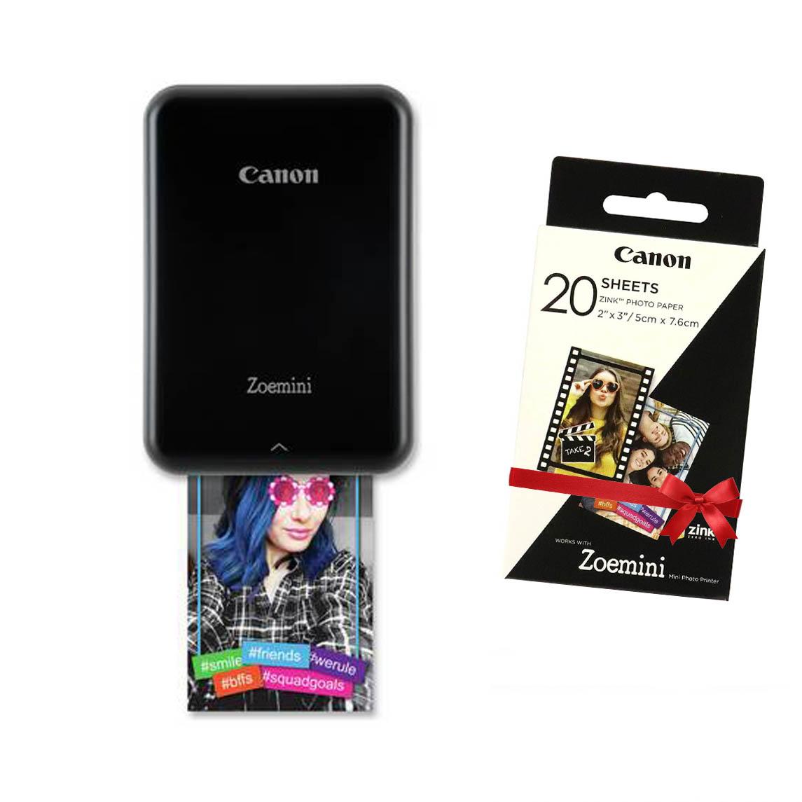 Canon Zoemini Fotoprinter Black