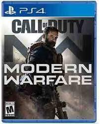 Disk Playstation 4 (Call of Duty Modern Warfare) RUS 2019