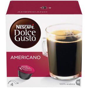 Qəhvəbişirən ucun kapsul Dolce Gusto Americano 16 əd