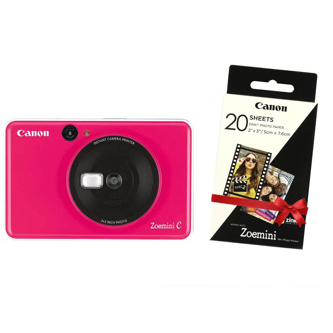 """Canon INSTANT CAM. PRINTER ZOEMINI """"C"""" Bubble Pink"""