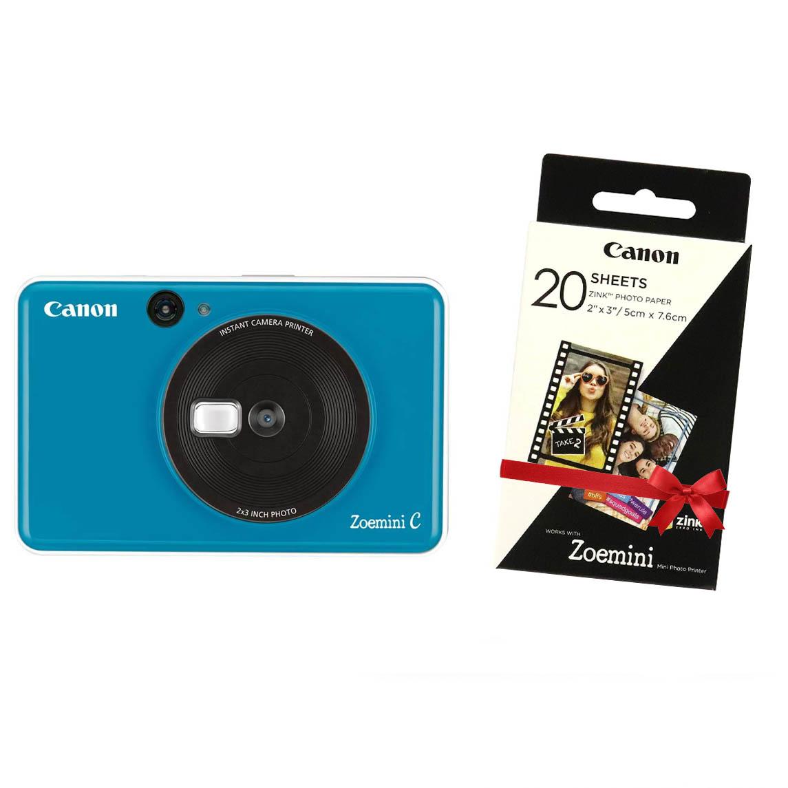 "Canon INSTANT CAM. PRINTER ZOEMINI ""C"" Seaside Blue"