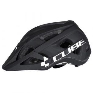 Helmet Cube AM Race S/M Black-White