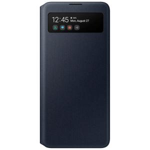 Samsung A71 S View Wallet Cover Black EF-EA715PBEGRU
