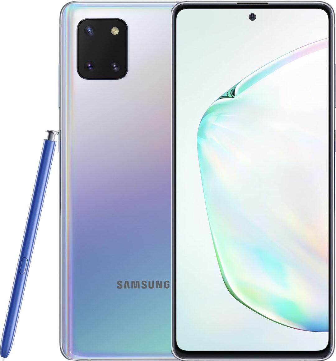 Samsung Galaxy Note 10 Lite (SM-N770) silver - 1