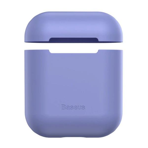 Baseus Silicon Case Airpods 1/2 Purple WIAPPOD-BZ05  - 1