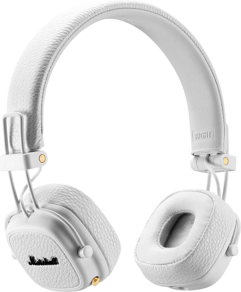 Qulaqlıq Marshall Major 3 Bluetooth White  - 1