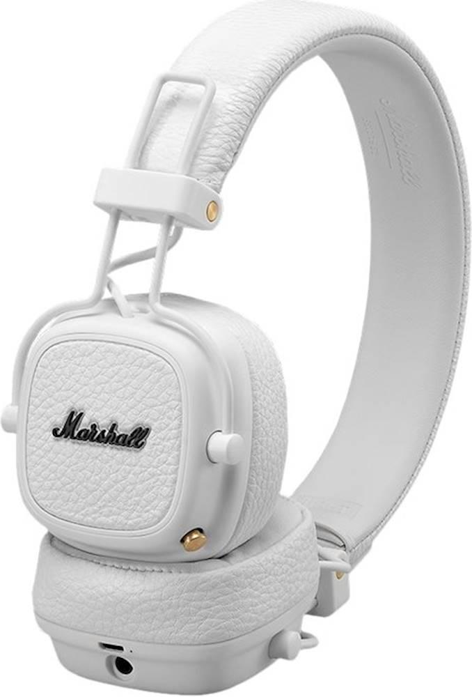 Qulaqlıq Marshall Major 3 Bluetooth White  - 2