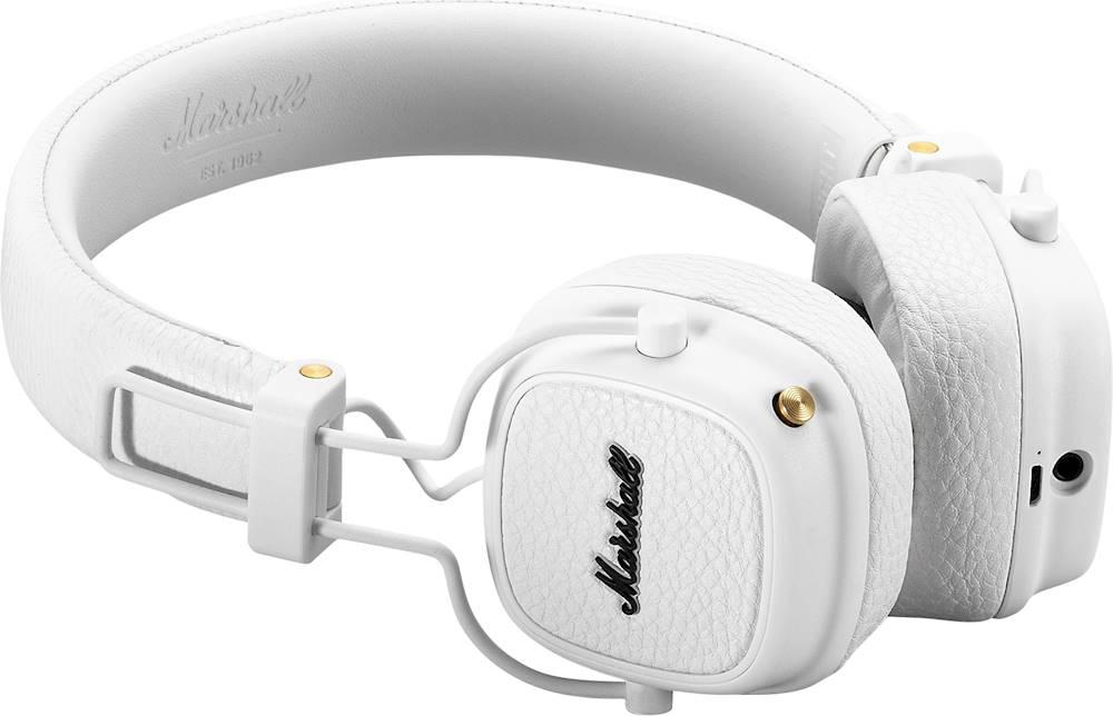 Qulaqlıq Marshall Major 3 Bluetooth White  - 3