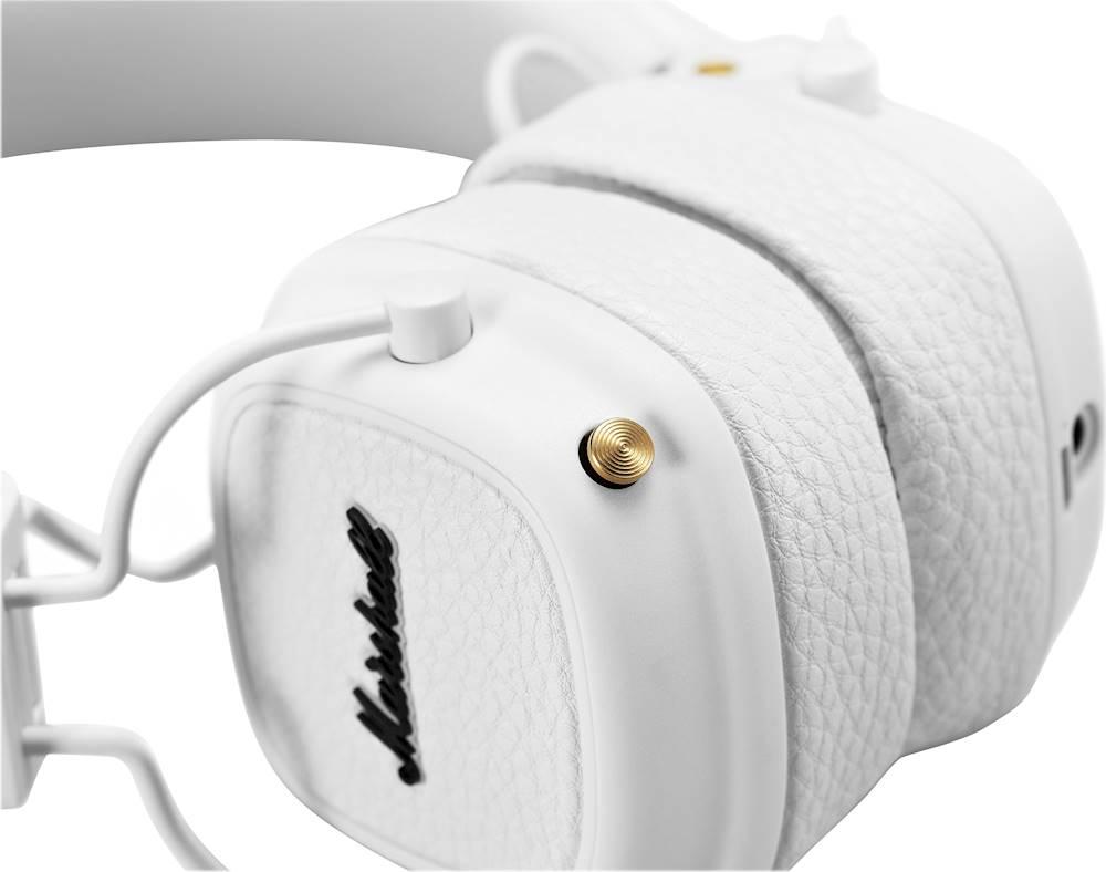 Qulaqlıq Marshall Major 3 Bluetooth White  - 4
