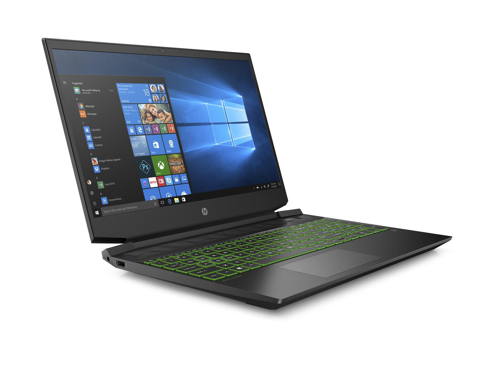 Ноутбук HP Pav Gaming 15-dk0017ur (7JW00EA)  - 3
