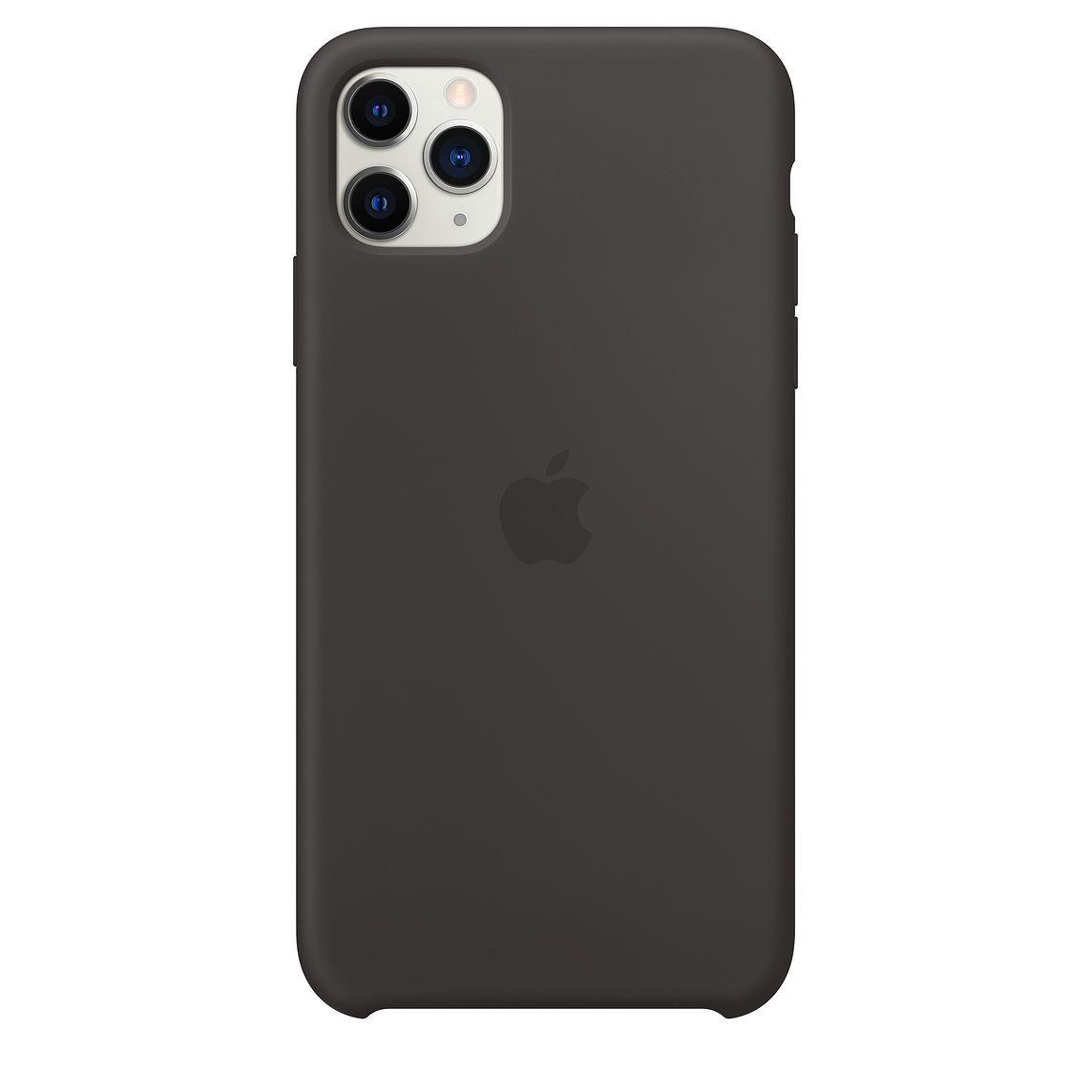 iPhone 11 Pro Silicone Case - Black  - 1
