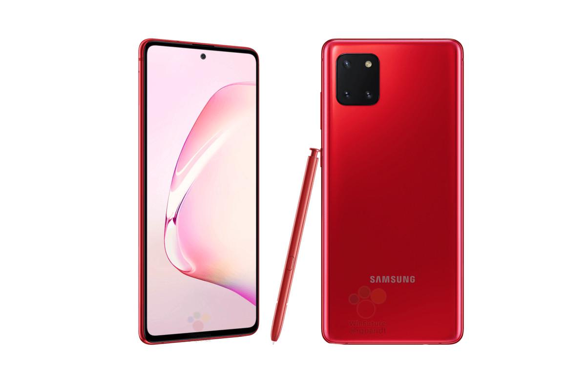 Samsung Galaxy Note 10 Lite (SM-N770) RED - 2