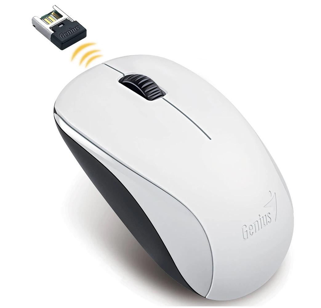 Mouse Genius NX-7000 White  - 2